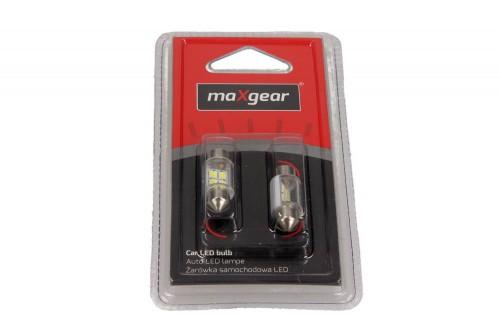 MAXGEAR Car LED lamp 12V / 5W (tube) 11X31MM SV8.5 (78-0173SET) MAXGEAR (78-0173SET)